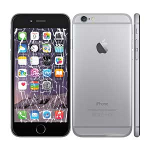 cracked iphone 6 screen repair iphone 6 screen repair broken screen replacement 8091